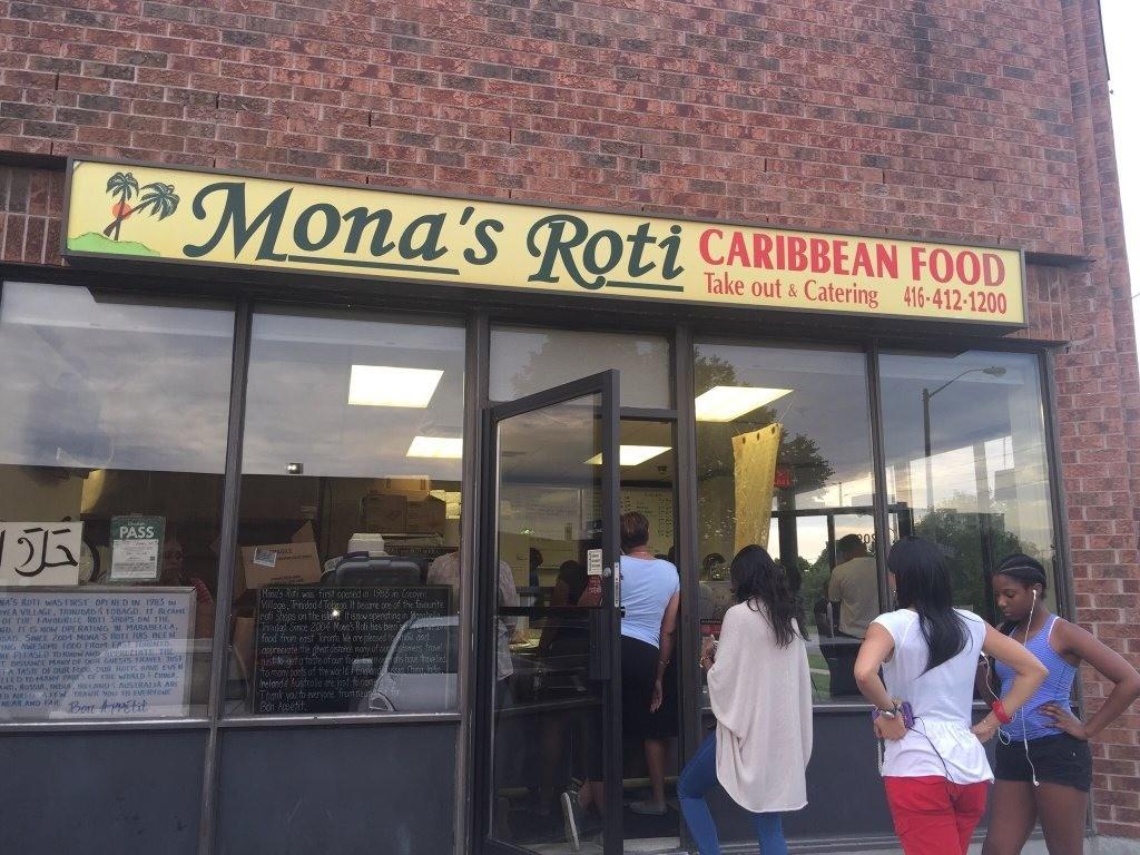 Mona's Roti-Caribbean Food