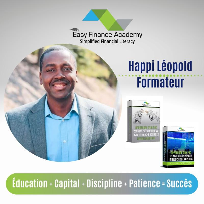 Happi Leopold (Éducation + Capital + Discipline + Patience = Succès)