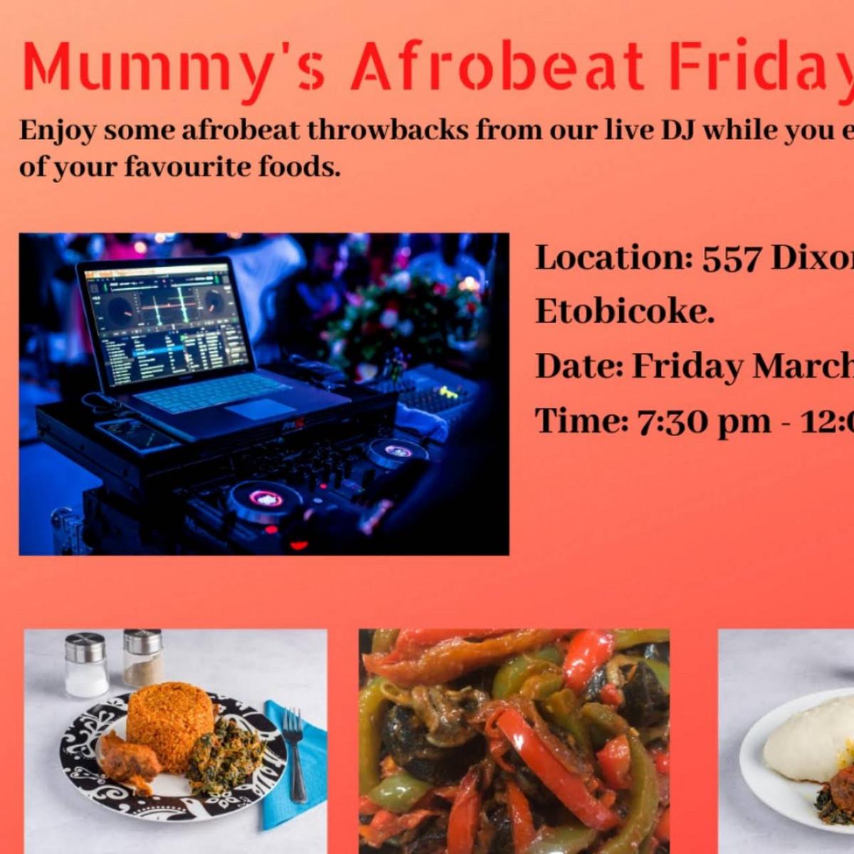 Mummy's Afro - Caribbean kitchen.