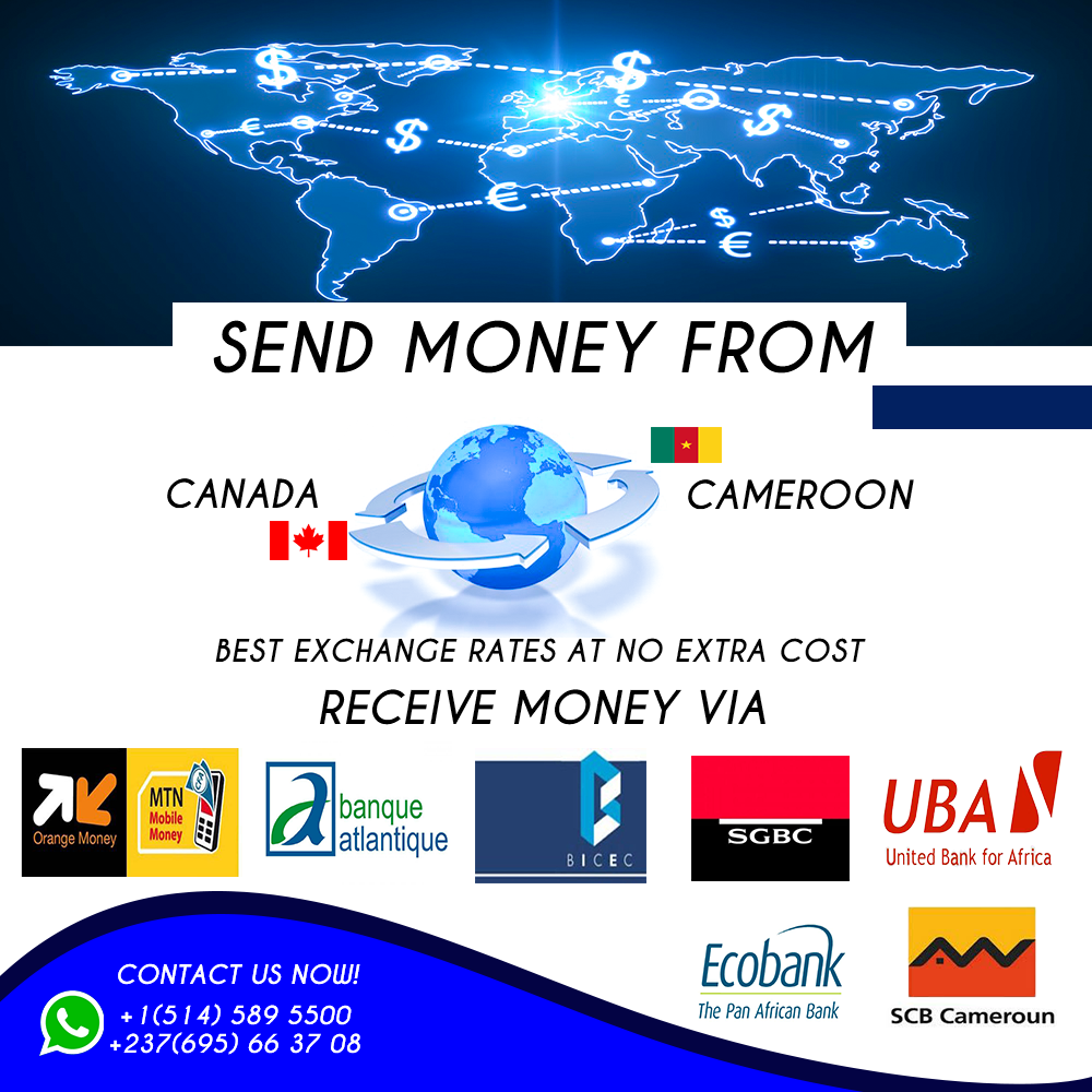 Money Transfer/ Transfert d'argent